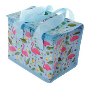 Flamingo Insulated Lunch Bag Lunch Box Cool Bag Picnic Bag School Packed Lunch - Plymouth, United Kingdom - Flamingo Insulated Lunch Bag Lunch Box Cool Bag Picnic Bag School Packed Lunch - Plymouth, United Kingdom