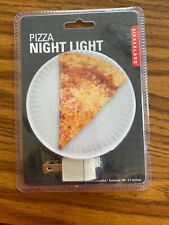 Pizza Night Light Lamp Personalized LED with Remote Control