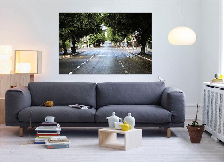 3D Wald Autobahn 44 Fototapeten Wandbild BildTapete AJSTORE DE Lemon
