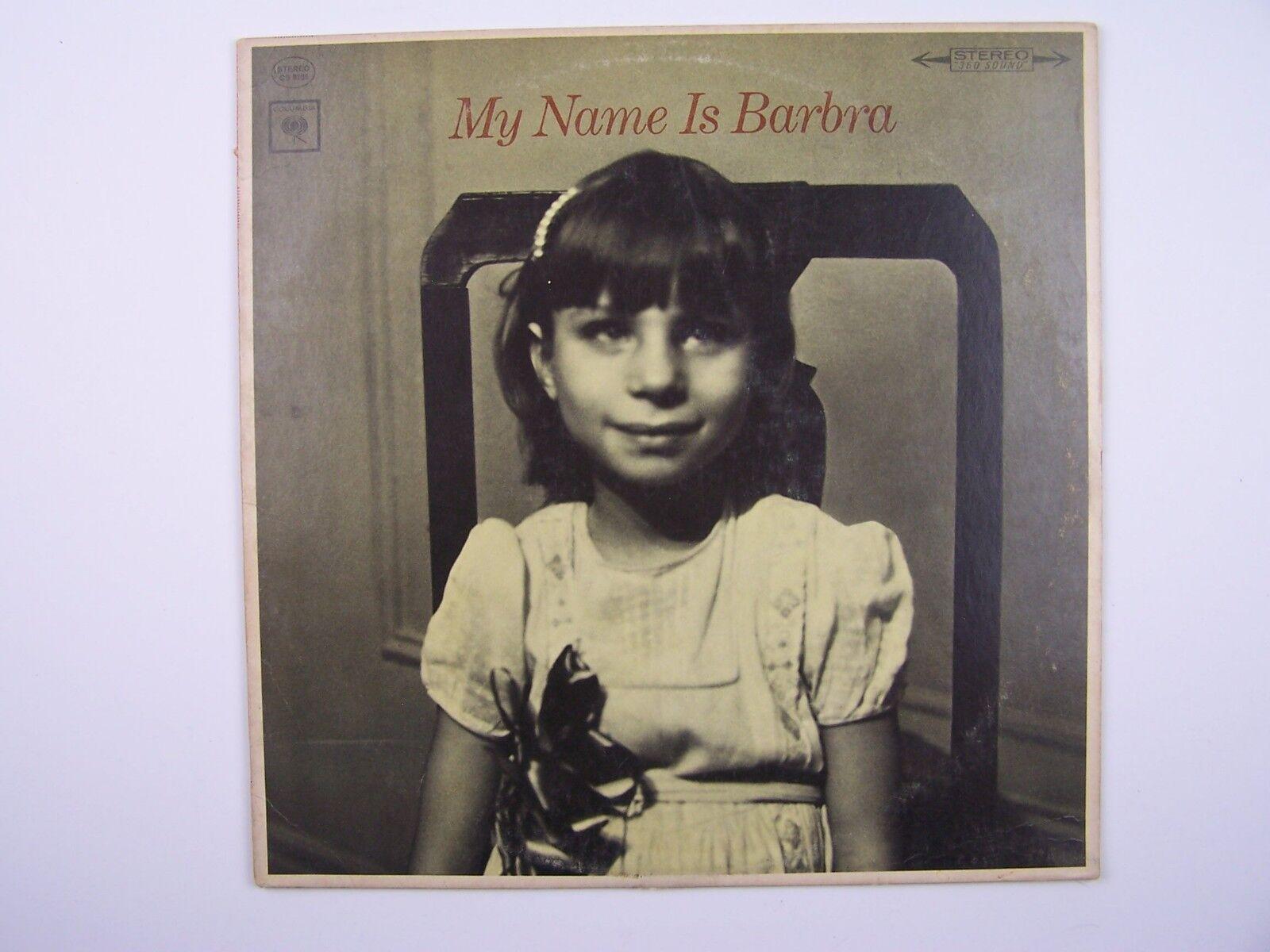 Barbra Streisand - My Name Is Barbra Vinyl LP Record Al