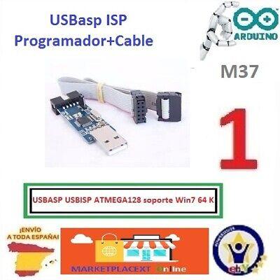 EL0611 Programador USB AVR ATMEL con adaptador