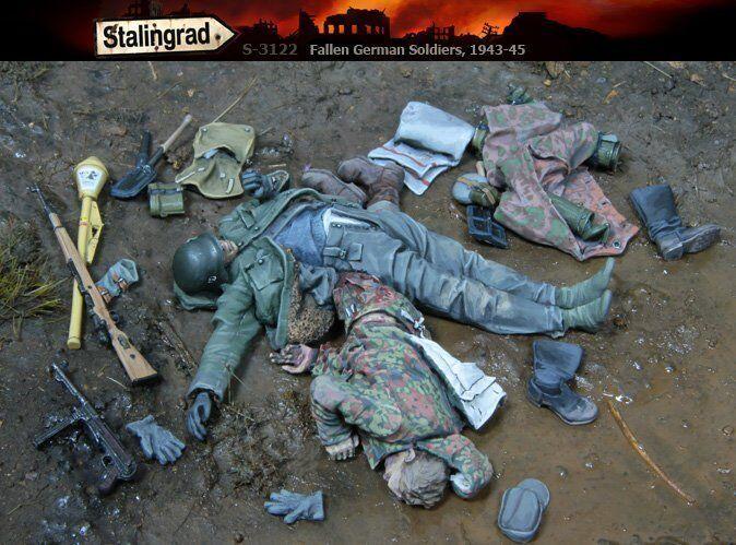Stalingrad 1 35 Fallen German Soldiers 1943-45