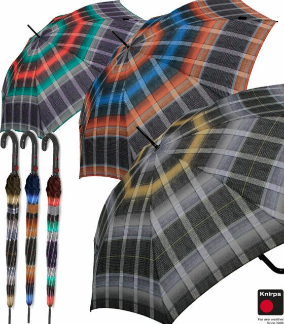 Regenschirm Stockschirm Damen Automatik Windfest Fiber Knirps