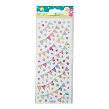 Craft Planet OLOGRAFICA Bunting Adesivi | Greetings Cards | CPT 805264 | A21