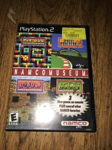Namco-Museum-Sony-PlayStation-2-Game-Black-Label-Complete-Case-Manual