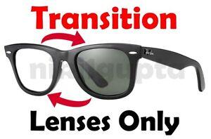 transition grey rb2140 wayfarer anti glare replacement