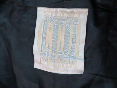 Ferre Studio Coat Gianfranco calf Mid Warm By Super Black Soft Wool 0001 Us12 qqra4fStW