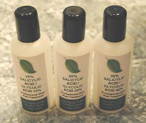 Salicylic-Acid-Glycolic-Acid-Combination-Skin-Peel-acne-100ml-Kit-BUY-2-GET-3