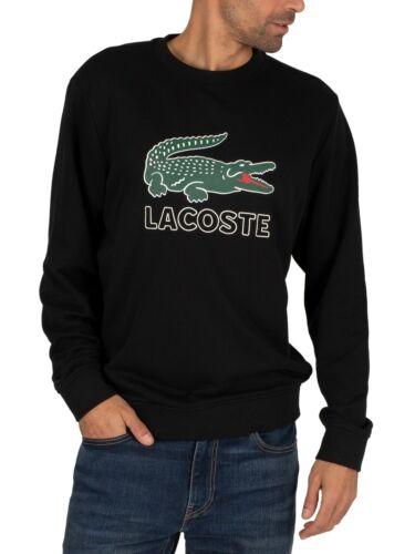 Lacoste Men/'s Graphic Sweatshirt Black