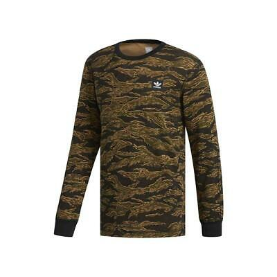 NEW Adidas Originals Men's Climalite Camouflage Thermal Pullover Sweatshirt Tee | eBay