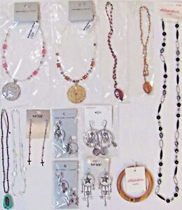 NEW-129-Wholesale-Lot-Fashion-Jewelry-Necklaces-Earrings-Bracelet-CLEARANCE