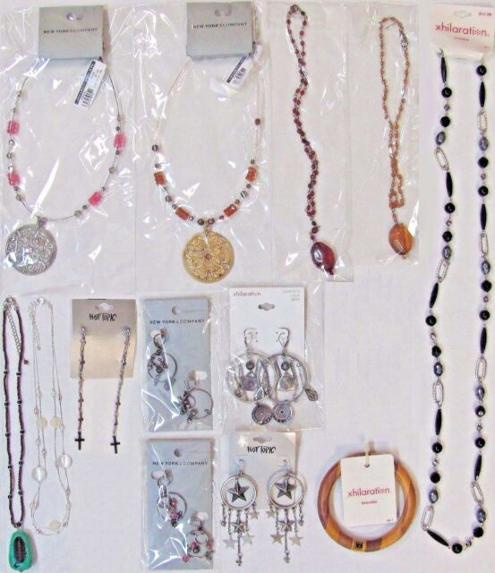 Wholesale Lots FREE SHIPPING Fashion Jewelry Necklaces Earrings Bracelet NEW NWT