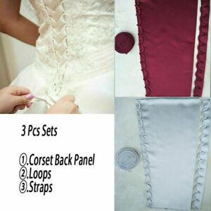 bridal wedding dresses corset kit loops zipper replacement