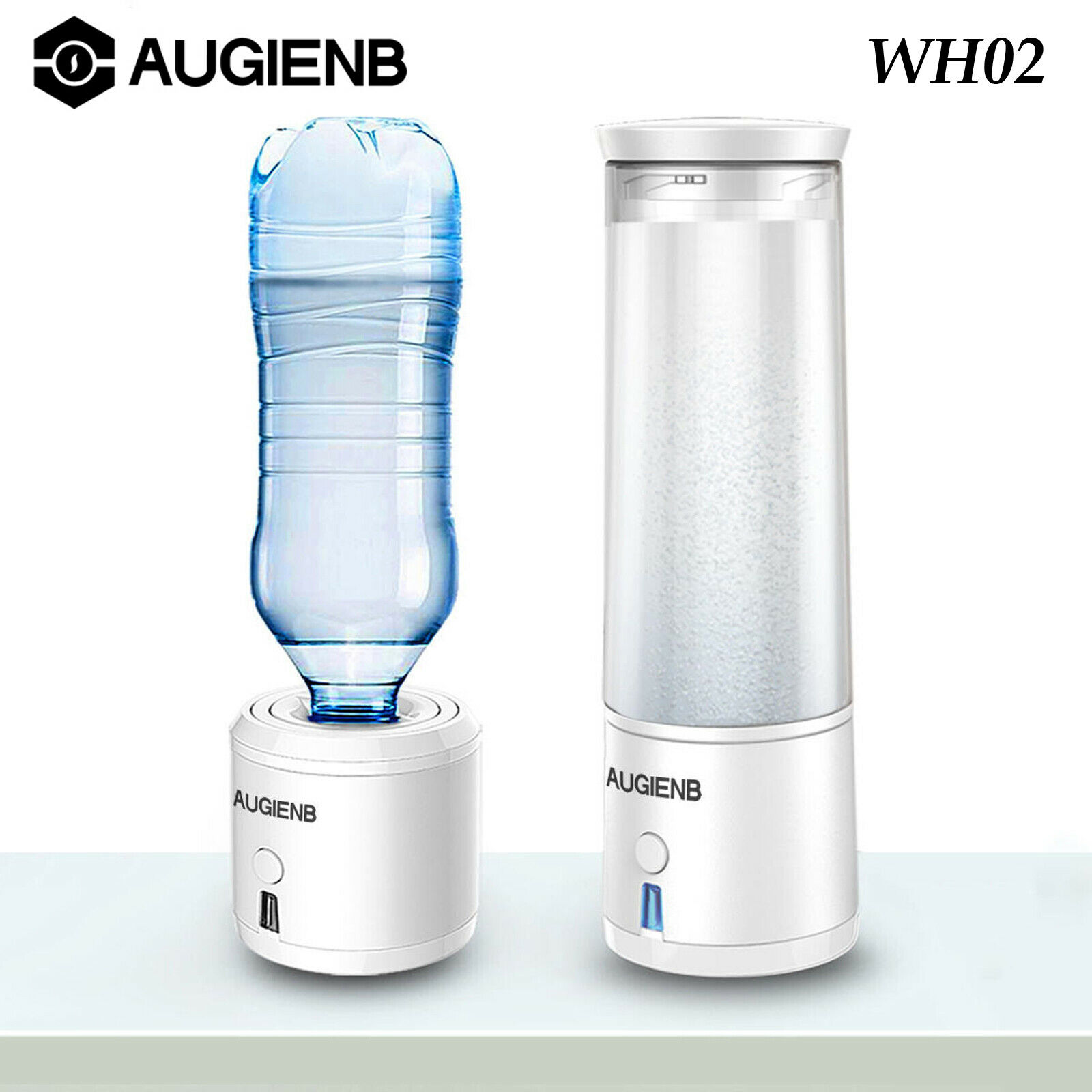 AUGIENB WH02 USB Charging portable Hydrogen eau Alkaline Ionizer Purifier