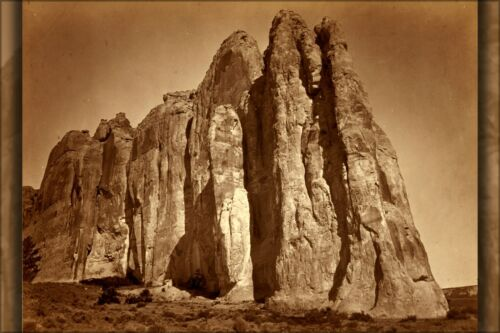 Poster, Many Sizes; Timothy O'Sullivan, South Side Of Inscription Rock, New Mexi