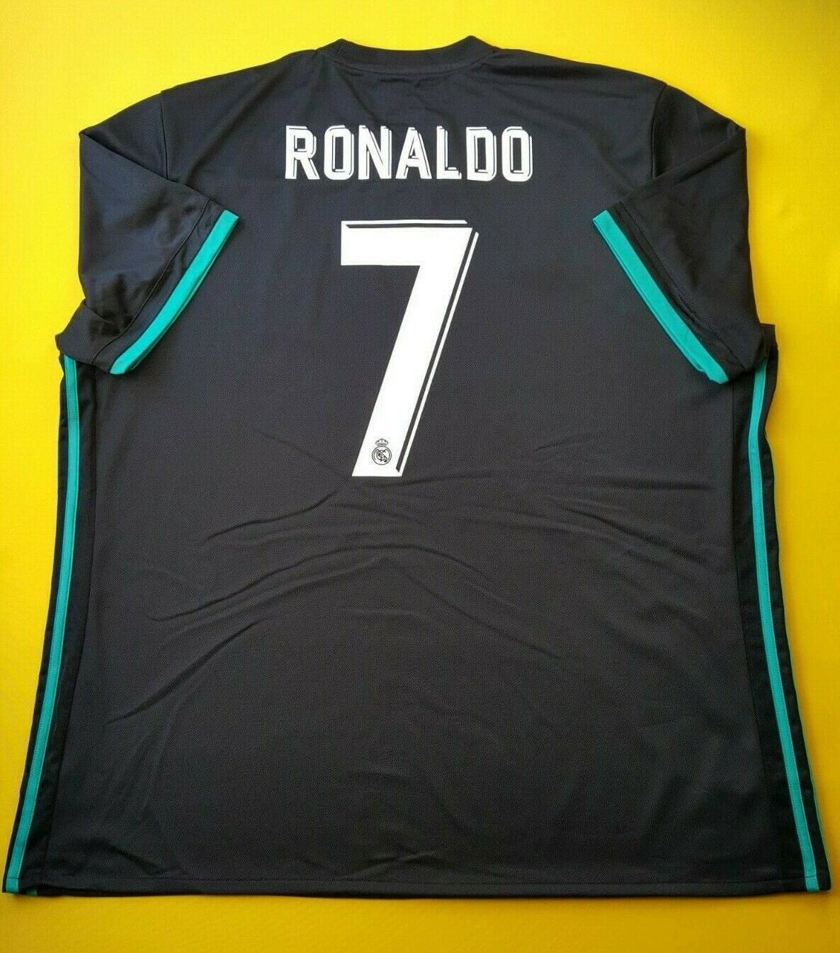 4.9 5 Ronaldo Real Madrid Jersey Camisa De Fútbol Adidas BR3543 2XL 2018 ig93