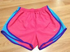 Women's Nike Dri-Fit Pink/Purple/Teal Gym Casual Workout Shorts size Small