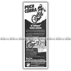 PUB PUCH 50 COBRA 2V TOUT-TERRAIN - Original Advert - Publicité Cyclo 1982 4CfaK5vY-09165011-751894437