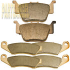 Front Rear Sintered Brake Pads For Honda TRX 450 R/ER 450 ER