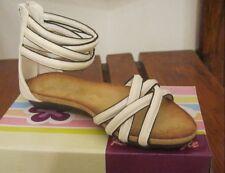sandali/scarpe estive bambina nuove col bianco n°25-26-28