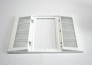 Details about Broan Nutone S89339000 Grille, Bathroom Vent Fan QT140L