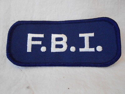 PACIFIC BELL VIDEO SERVICES  USED EMBROIDERED  SEW ON NAME PATCH TAG