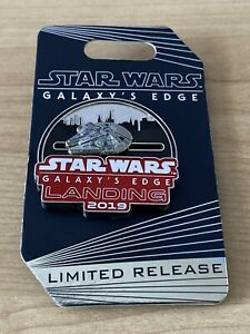 Disney-WDW-Galaxy-039-s-Edge-Landing-Millennium-falcon-Slider-Opening-Day-DHS-Pin-LR