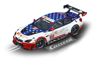 Carrera Evolution 20027559 BMW M6 GT3 Team RLL No.25 Slot Car BRAND NEW