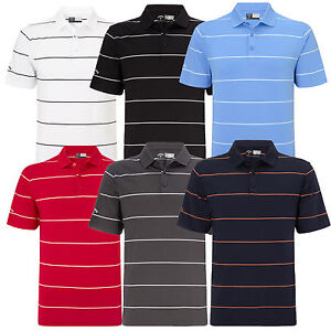 on sale 07ad6 f2716 Details about Callaway Golf Chev Auto Stripe Athletic Jersey Mens Polo  Shirt NEW