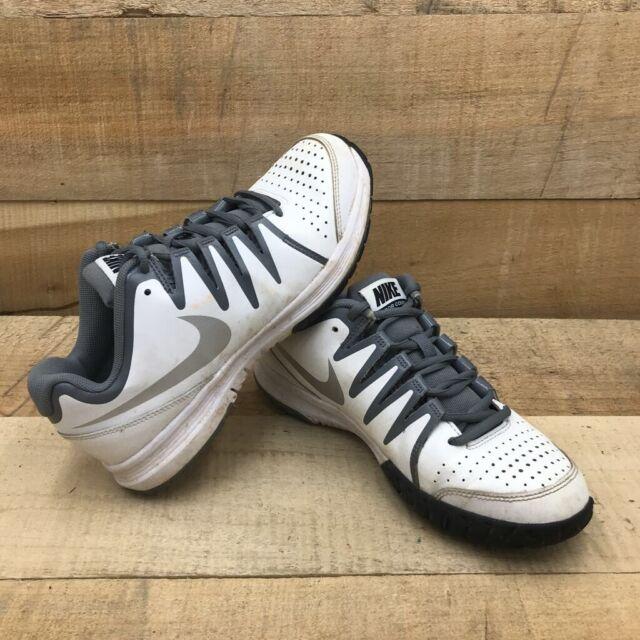 WMNS Nike Vapor Court White Silver Grey