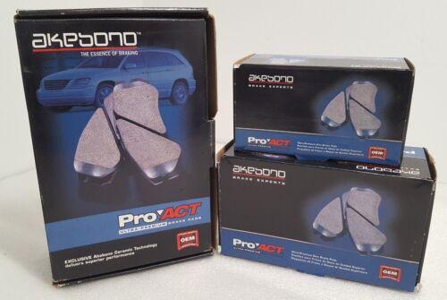 Brand New Akebono Front Ceramic Brake Pads Fits Chevrolet GMC Dodge  ACT370
