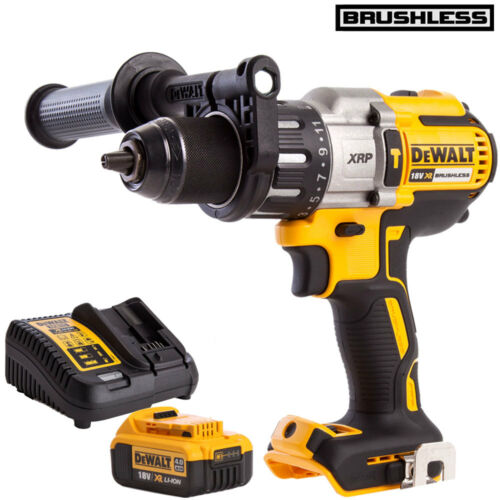 Dewalt DCD996N 18V Brushless Combi Drill with 1 x 4.0Ah DCB182 Battery /& Charger