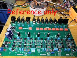 DIY-Bryston-BP-26-Pre-Amp-Board-PCB-Full-Balanced-Preamplifier-Switching-Board