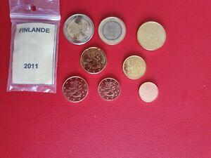 * Série complète UNC -  FINLANDE 2011 - 8 pièces