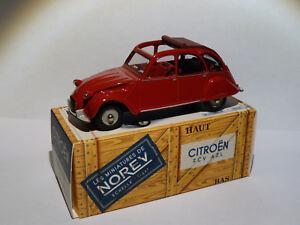 Citroen-2cv-AZL-au-1-43-de-norev-conception-comme-dinky-toys-solido-cij