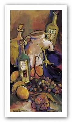 Tuscan Kitchen I Karel Burrows Art Print 14x7