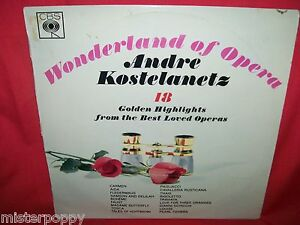 ANDRE-KOSTELANETZ-Wonderland-of-Opera-LP-1963-USA-MINT