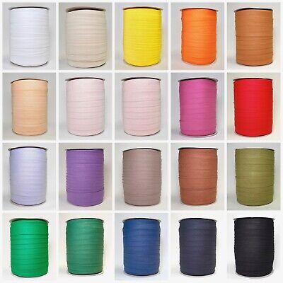 Schrägband Baumwolle 20 mm doppelt gefalzt Einfassung Einfassband Meterware