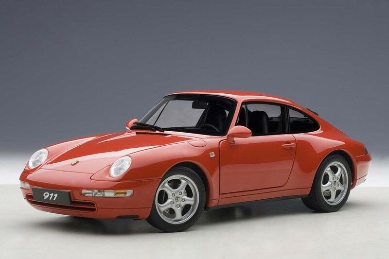 78132 autoart 1,18 porsche 911 993 carrera 1995 rot