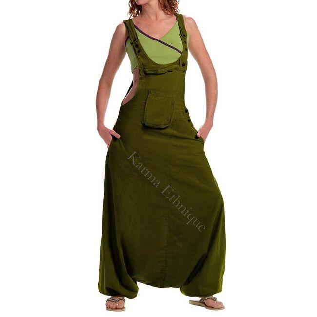 SALOPETTE SAROUEL du Népal (du (du (du 36 au 46) COTON vetement ethnique combi pantalon d81f71