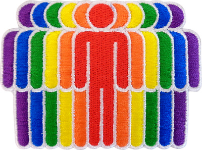 58051 Rainbow Fist Gay Pride Power Flag LGBTQ Equal Embroidered Iron On Patch
