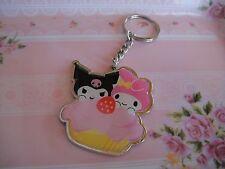Sanrio  My Melody×KUROMI Cake Key Ring Bag Charm Sanrio  Limited edition NEW