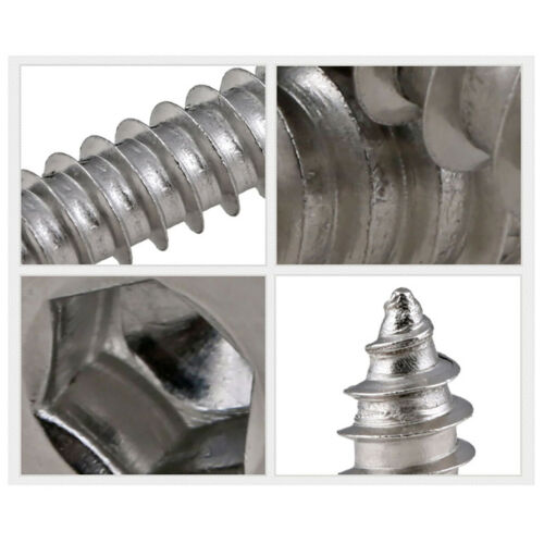Round Flat Countersunk Head Socket Cap Self-Tapping Screws 304 Stainless Steel