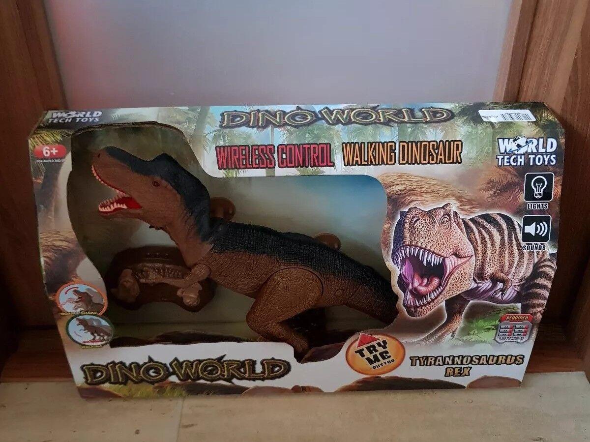 Welt - spielzeug dino welt drahtlose steuerung laufen dinosaurier - tyrannosaurus rex