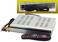 Digital To Analog Tv Converter Dtv Tuner Box W Remote, Program Guide, Plus More