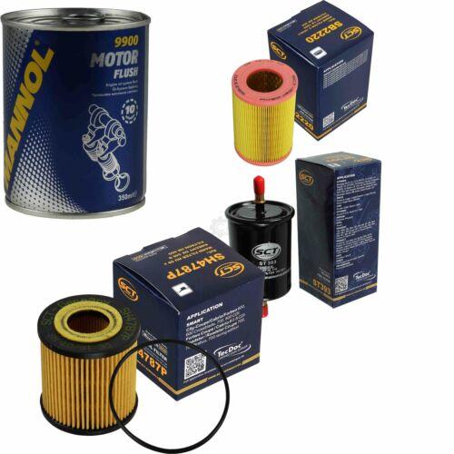 Original SCT Inspektionspaket Filter Set Motor Flush Motorspülung 11586307