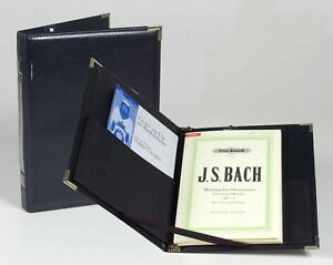 Concert-Legacy-Black-Choral-Choir-Music-Folder-w-Strings-Expand-Pocket-amp-Pencil