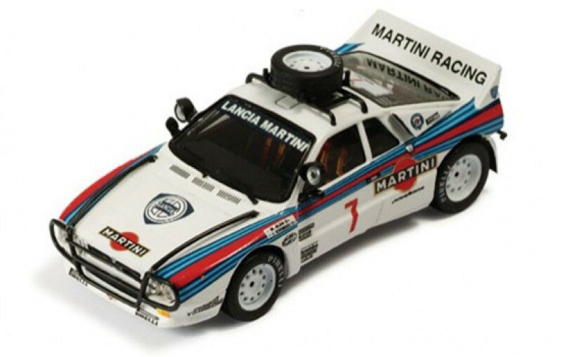 1 43 LANCIA 037 RALLY MARTINI RACING SAFARI RALLY 1984 M. Alen