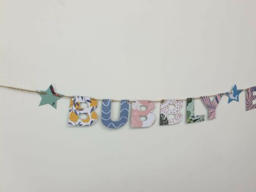 Summer Garden Party BBQ Gin Pimms O/'clock Wedding Banner Bunting decorations