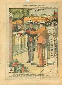 Racetrack-PMU-Champ-de-Courses-Hippodrome-de-Longchamp-Paris-1921-ILLUSTRATION